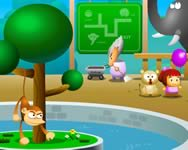 Funny zoo Affe online spiele