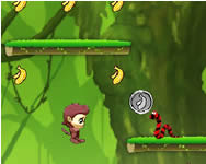 Jumping Bananas Affe online spiele