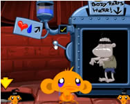 Monkey go happy halloween Affe online spiele