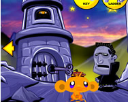 monkey go happy ninja hunt 2 spiele online